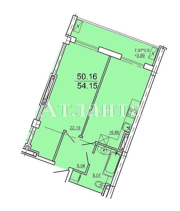 Продается 1-комнатная квартира в новострое на ул. Ванный Пер. — 105 800 у.е.