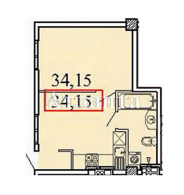 Продается 1-комнатная квартира в новострое на ул. Ванный Пер. — 39 270 у.е.