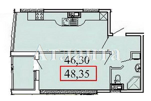 Продается 1-комнатная квартира в новострое на ул. Ванный Пер. — 86 670 у.е.