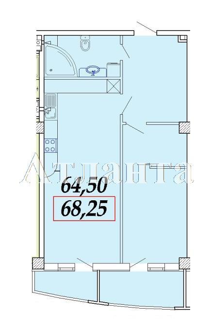 Продается 1-комнатная квартира в новострое на ул. Ванный Пер. — 88 470 у.е.