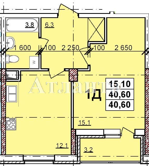 Продается 1-комнатная квартира в новострое на ул. Балковская — 28 000 у.е.