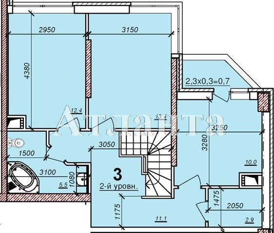 Продается Многоуровневая квартира в новострое на ул. Балковская — 53 500 у.е. (фото №2)