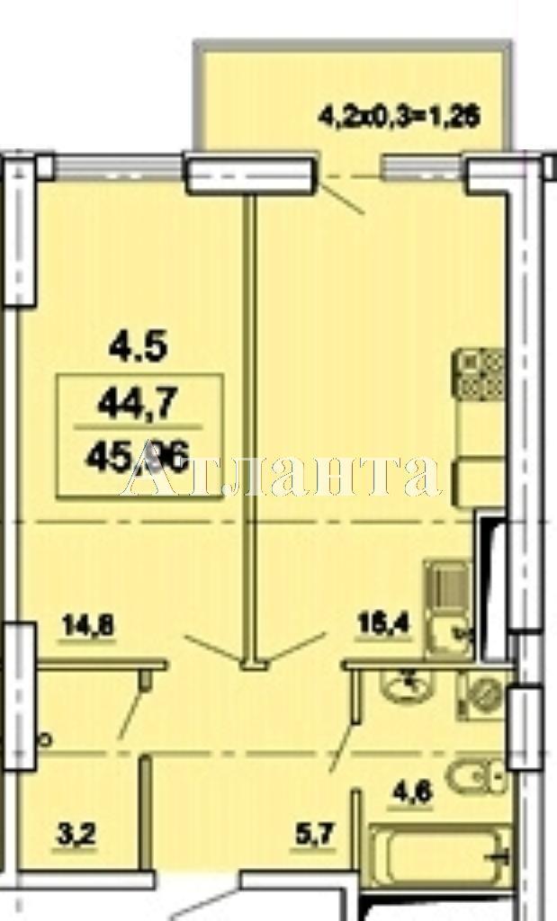 Продается 1-комнатная квартира в новострое на ул. Педагогическая — 53 000 у.е. (фото №7)