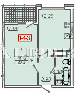 Продается 1-комнатная квартира в новострое на ул. Сахарова — 26 250 у.е.