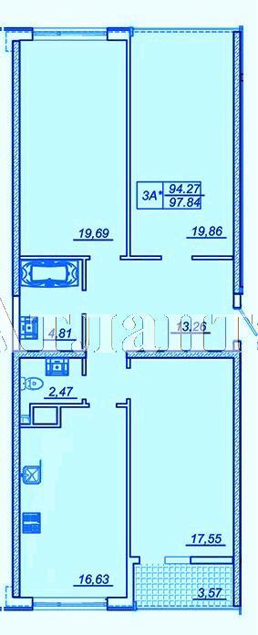 Продается 3-комнатная квартира в новострое на ул. Жм Дружный — 65 000 у.е.