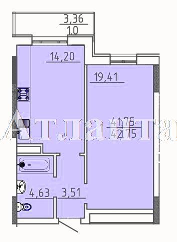 Продается 1-комнатная квартира в новострое на ул. Фонтанская Дор. — 44 900 у.е.