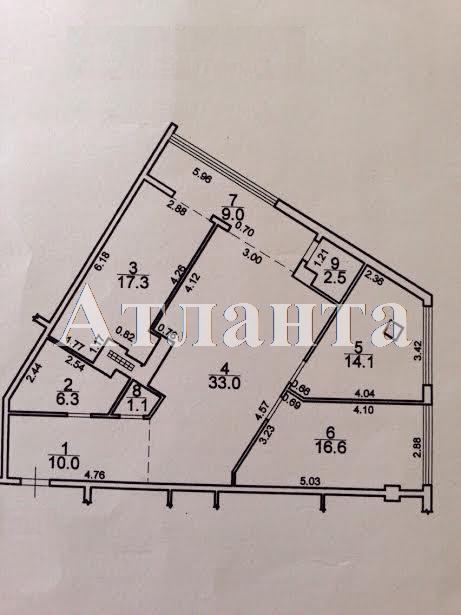 Продается 3-комнатная квартира в новострое на ул. Гагаринское Плато — 280 000 у.е. (фото №17)