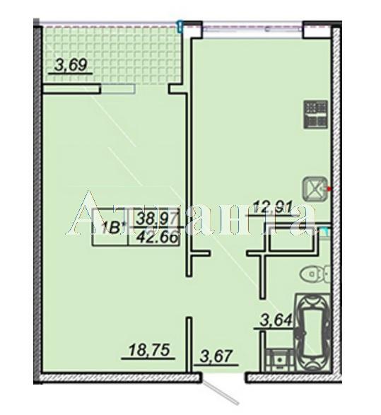 Продается 1-комнатная квартира в новострое на ул. Жм Дружный — 35 000 у.е. (фото №6)