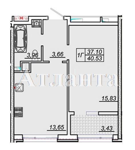 Продается 1-комнатная квартира в новострое на ул. Жм Дружный — 29 000 у.е.