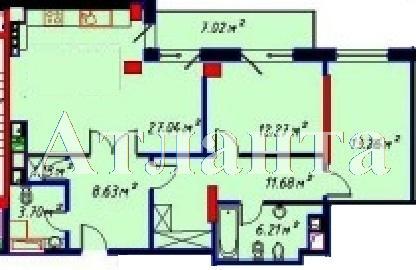 Продается 1-комнатная квартира в новострое на ул. Отрадная — 180 400 у.е. (фото №2)