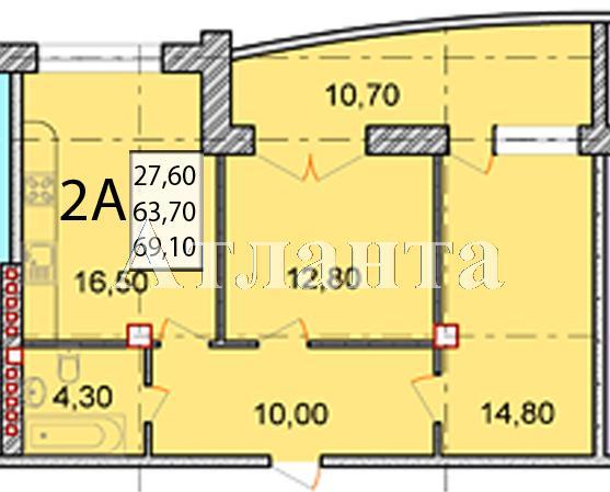 Продается 2-комнатная квартира в новострое на ул. Маршала Говорова — 115 000 у.е. (фото №19)