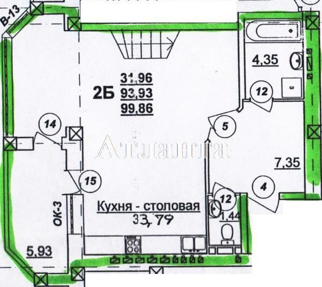 Продается 3-комнатная квартира в новострое на ул. Маршала Говорова — 98 350 у.е.