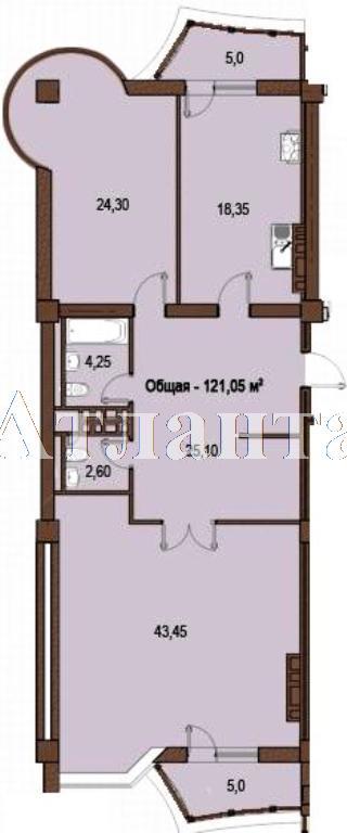 Продается 2-комнатная квартира в новострое на ул. Жуковского — 155 880 у.е.