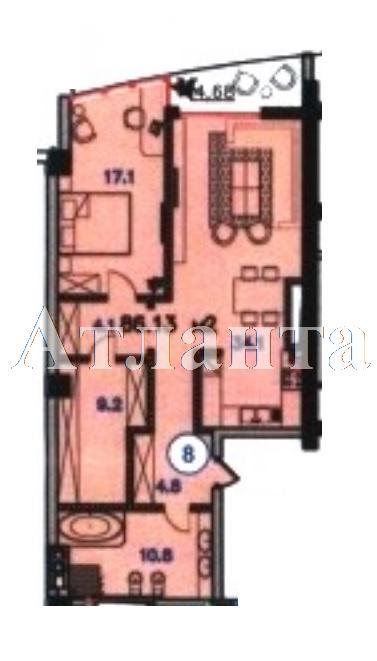 Продается 1-комнатная квартира в новострое на ул. Инбер Веры — 130 000 у.е.
