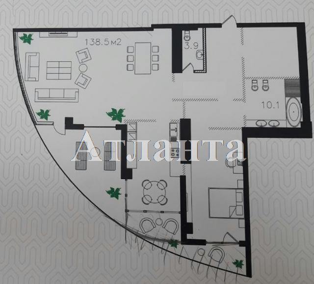 Продается 2-комнатная квартира в новострое на ул. Инбер Веры — 280 000 у.е. (фото №3)