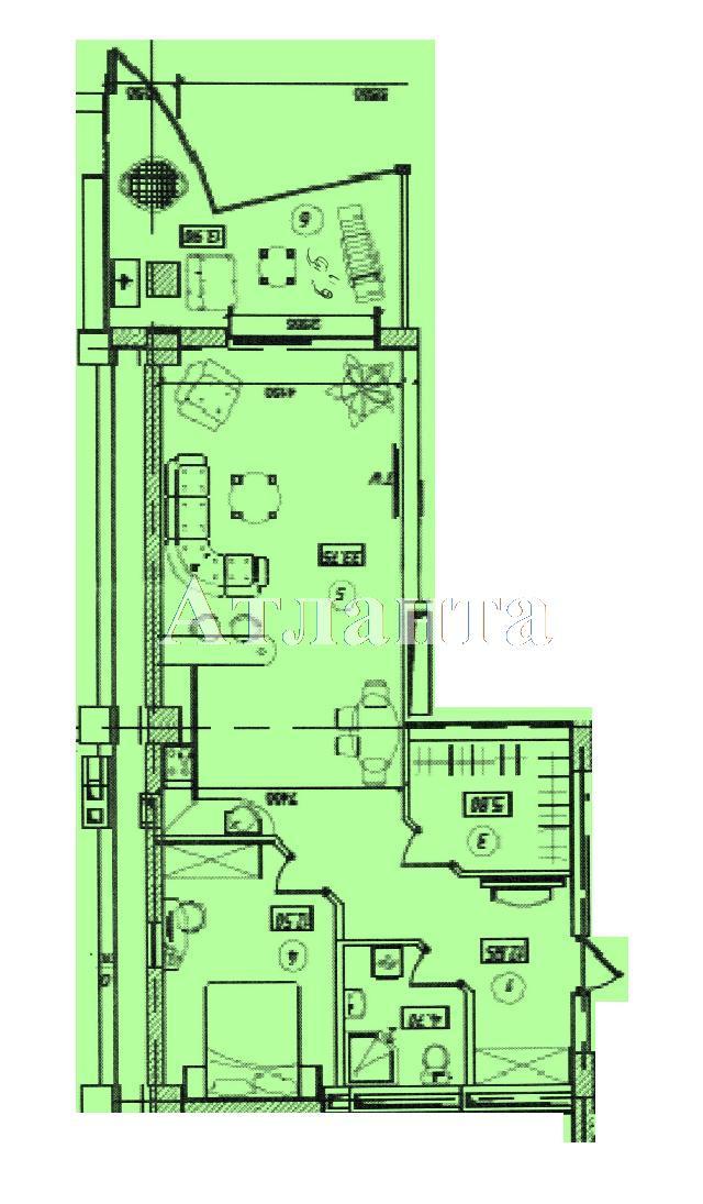 Продается 2-комнатная квартира в новострое на ул. Инбер Веры — 100 000 у.е. (фото №3)