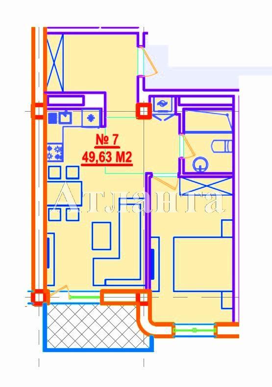 Продается 1-комнатная квартира в новострое на ул. Азарова Вице Адм. — 84 370 у.е.