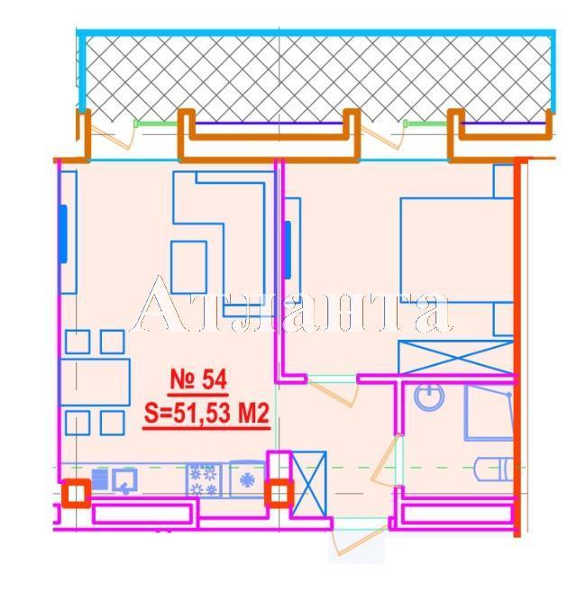 Продается 1-комнатная квартира в новострое на ул. Азарова Вице Адм. — 110 790 у.е.