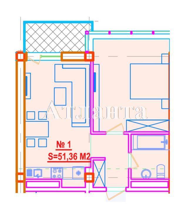Продается 1-комнатная квартира в новострое на ул. Азарова Вице Адм. — 102 730 у.е. (фото №3)