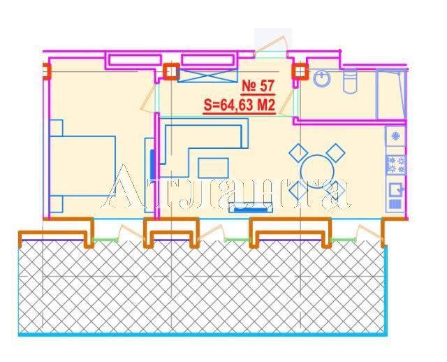 Продается 2-комнатная квартира на ул. Азарова Вице Адм. — 135 720 у.е.