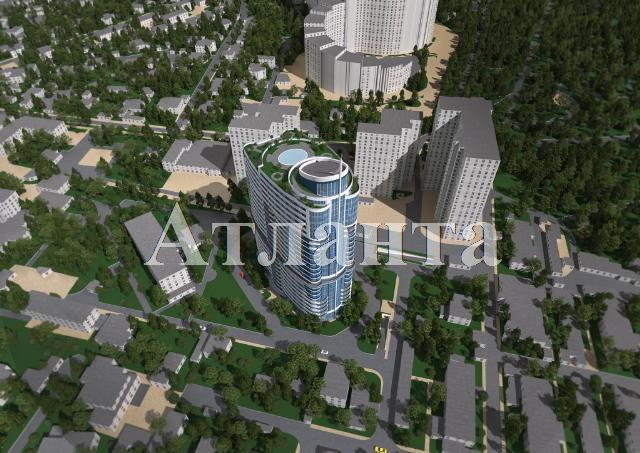 Продается 1-комнатная квартира в новострое на ул. Новобереговая — 64 880 у.е. (фото №2)