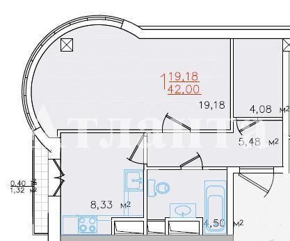 Продается 1-комнатная квартира в новострое на ул. Жм Дружный — 57 000 у.е.