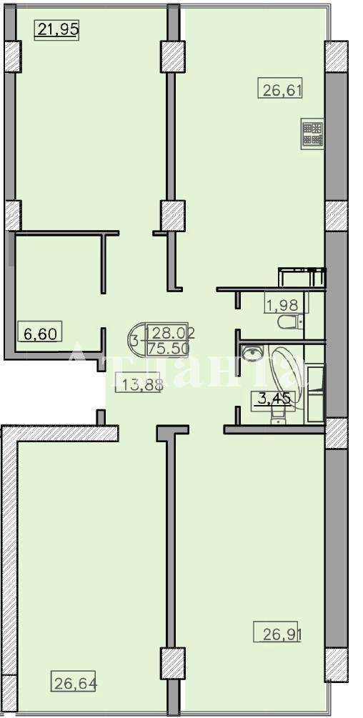 Продается 3-комнатная квартира в новострое на ул. Французский Бул. — 220 000 у.е.