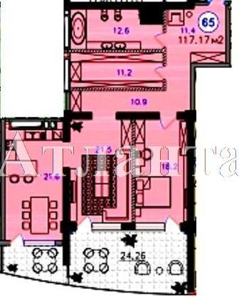 Продается 2-комнатная квартира в новострое на ул. Купальный Пер. — 231 000 у.е. (фото №3)