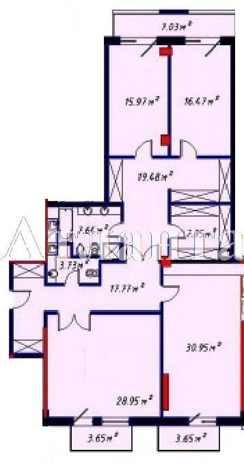 Продается 2-комнатная квартира в новострое на ул. Отрадная — 325 800 у.е. (фото №2)
