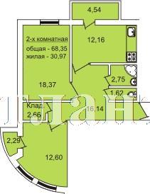 Продается 2-комнатная квартира в новострое на ул. Педагогическая — 71 770 у.е.