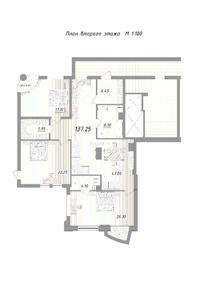 Продается 4-комнатная квартира в новострое на ул. Маразлиевская — 192 000 у.е.
