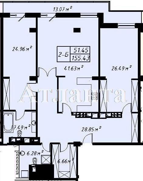 Продается 2-комнатная квартира в новострое на ул. Отрадная — 270 000 у.е. (фото №8)