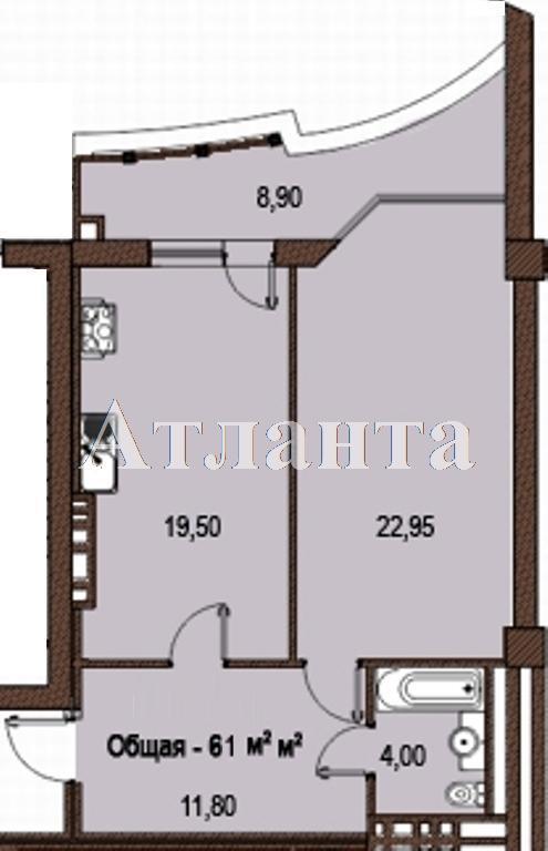 Продается 1-комнатная квартира в новострое на ул. Жуковского — 78 130 у.е. (фото №3)