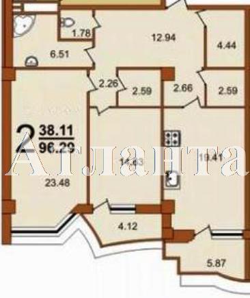 Продается 2-комнатная квартира в новострое на ул. Жуковского — 116 160 у.е. (фото №3)