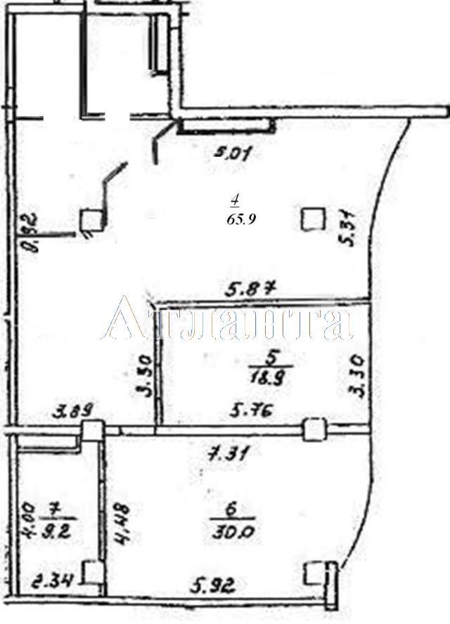Продается 2-комнатная квартира в новострое на ул. Генуэзская — 199 000 у.е. (фото №8)