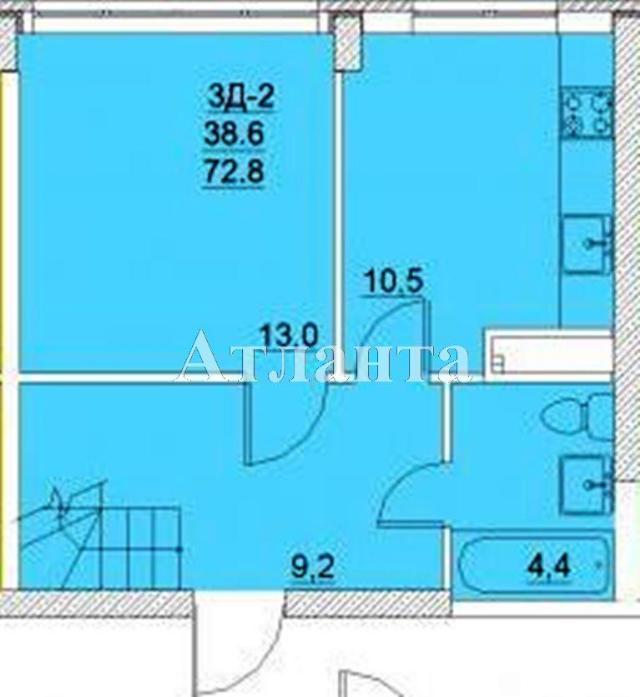 Продается Многоуровневая квартира в новострое на ул. Средняя — 62 500 у.е. (фото №5)