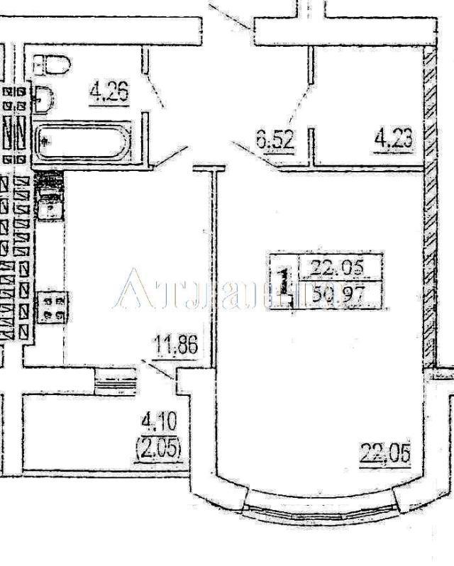 Продается 1-комнатная квартира в новострое на ул. Зоопарковая — 60 690 у.е.