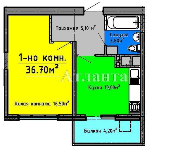 Продается 1-комнатная квартира в новострое на ул. Люстдорфская Дорога — 37 800 у.е.