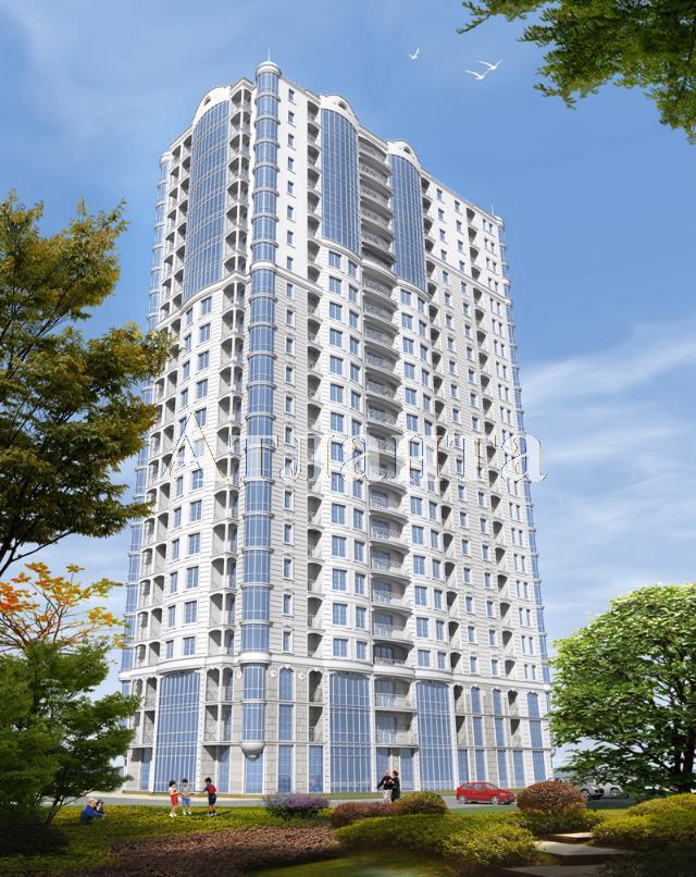 Продается 1-комнатная квартира в новострое на ул. Гагаринское Плато — 84 300 у.е. (фото №2)
