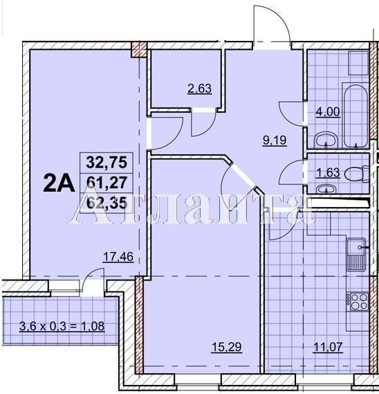 Продается 2-комнатная квартира в новострое на ул. Жаботинского — 50 790 у.е.