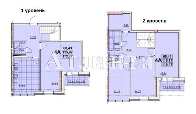 Продается Многоуровневая квартира в новострое на ул. Жаботинского — 98 210 у.е.