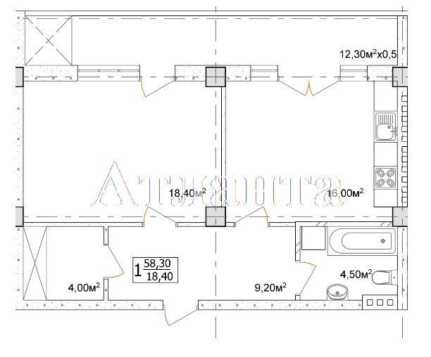 Продается 1-комнатная квартира в новострое на ул. Дача Ковалевского — 46 970 у.е. (фото №4)