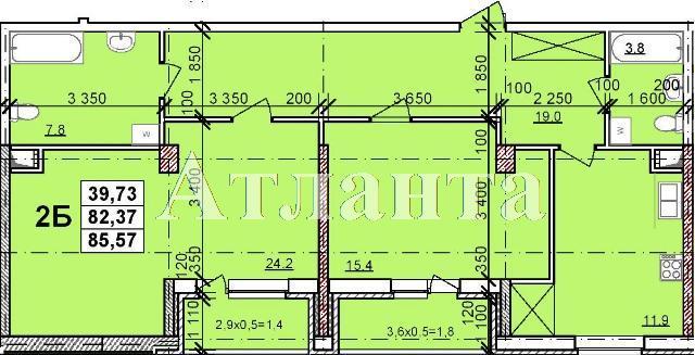 Продается 2-комнатная квартира в новострое на ул. Балковская — 45 000 у.е. (фото №3)