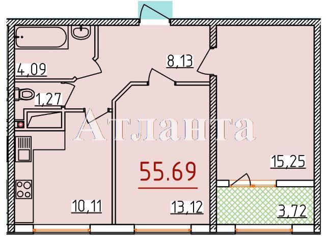 Продается 2-комнатная квартира в новострое на ул. Бассейная — 32 960 у.е.