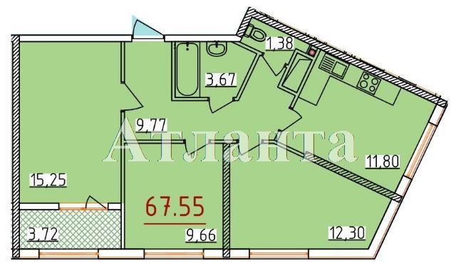 Продается 3-комнатная квартира в новострое на ул. Бассейная — 40 940 у.е.