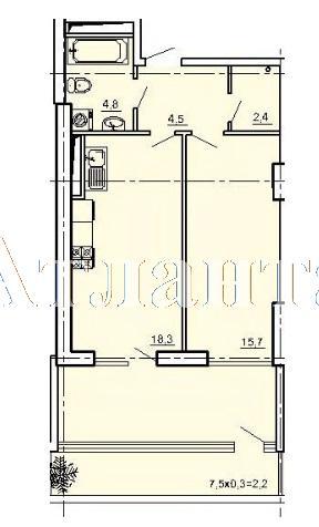 Продается 2-комнатная квартира в новострое на ул. Педагогическая — 49 320 у.е. (фото №6)