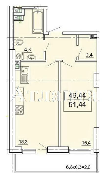 Продается 1-комнатная квартира в новострое на ул. Педагогическая — 41 150 у.е. (фото №5)