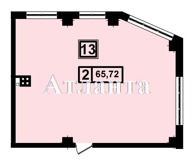 Продается 2-комнатная квартира в новострое на ул. Генуэзская — 44 000 у.е. (фото №3)