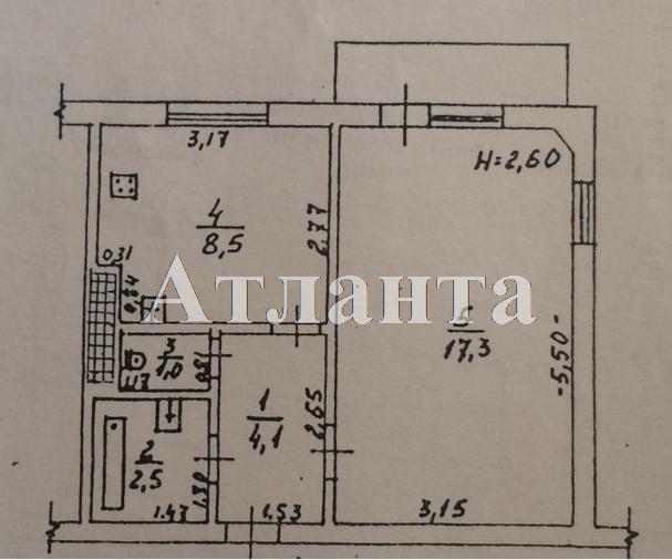 Продается 1-комнатная квартира на ул. Академика Глушко — 38 000 у.е. (фото №30)