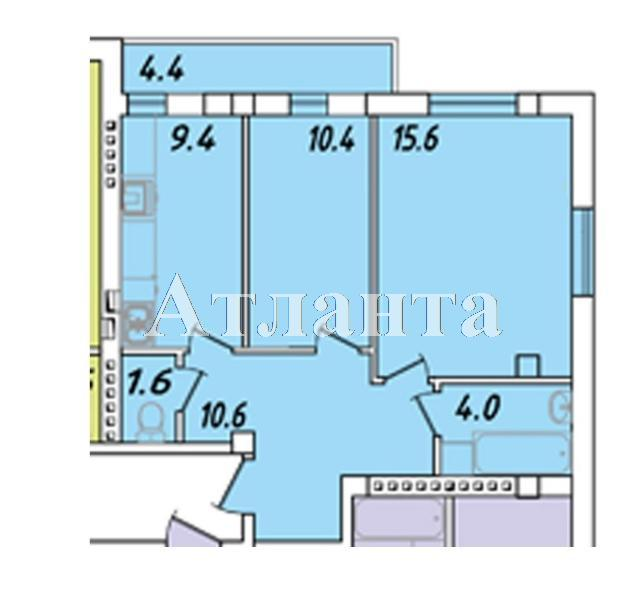 Продается 2-комнатная квартира в новострое на ул. Пригородская — 29 370 у.е.